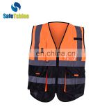 high quality reflective traffic vest personal safety vest with reflective type