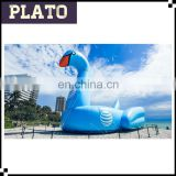 Blue Giant inflatable swan inflatable animal model for commercial trade show