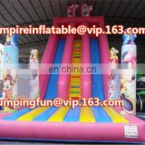 Mickey mouse inflatable colorful medium slide ID-SLM029