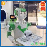Automatic talking electric restaurant dish delivery robot for sale