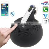 USB Multi-functional Touch Button 3 in 1 (Stereo Speaker + Power Bank + Earphone) with Telephone Answering F