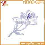 Fashion jewelry crystal wedding brooch women wholesale pearl flower brooch