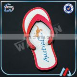 guangdong profession 2d flip flop fridge magnet