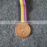 college Gymnastic club award golden medal for souvenir
