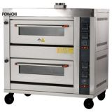 Commercial Double Gas Deck Oven 2 Deck 4 Trays All S/S Cake Bakery Oven FMX-O40R