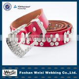 Design customized wholesale rhinestone belt