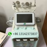 facial SPA H2-O2 6 in 1 Korea hydra facial skin care hydro water hydrogen machine /diamond aqua peeling dermabrasion device