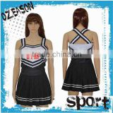 Manuefacture lycra Custom cheerleading uniform,cheer uniform for performance,hot spandex cheerleading uniform