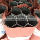 sexangle&round aluminum profile used for rail transit made by large press