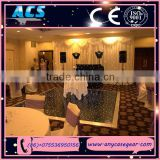 ACS New Style LED Dance Floor Easy to install/Popular indoor led dance floor tiles twinkle wedding hall dance floor