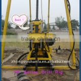 Most Popular in the market! small drill rig !!! HF150 portable soil investigation drill equipment