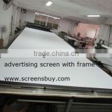 frame for open air movie screen/Fast portable screen/with 3D silver screen fabric/rear screen fabric/front screen fabric
