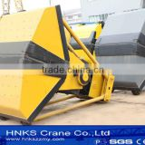 coal grab bucket for unloading coal from ship