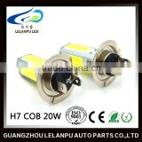 TOP quality factory supply 20W H7 H11 COB LED auto lamp high power led light