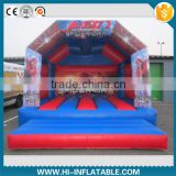 New product 2015 inflatable spider man bouncy castle for sale