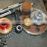Worm Shaft and Worm Gears, Spur, Helical, Double Helical, Internal Helical and Internal Spur Gears and Pinions