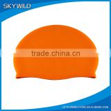 Wholesale Promotion Custom Logo Printed Latex Silicone Swimming Cap                                                                         Quality Choice