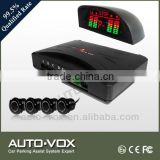 front auto camera parking sensor for cars with buzzer alarm