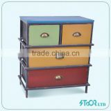 Luxury children painted wooden chest of drawers for sale