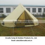5+ persons outdoor cotton canvas 5m bell tent pagoda tent party tent