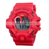 Hot Selling Fashion & Luxury Women And Men Plastic Watch Unique Sports Watch Digital