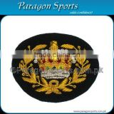 Bullion Badges Handmade Embroidered Cap Badges PS-223