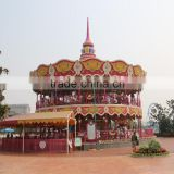 Used playground equipment kids luxury double deck carousel rides ride luxury carousel sale