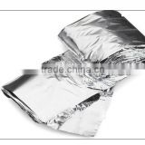 outdoor aluminum foil emergency first aid thermal blanket