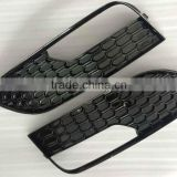 Auto Fog lamp cover for Audi A3 S3 RS3 grille