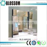 square art design wall mounted beauty salon makeup mirror
