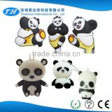 custom promotional silicone rubber panda mini usb flash drive with case                                                                                                         Supplier's Choice