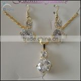 Fancy zircon necklace for women