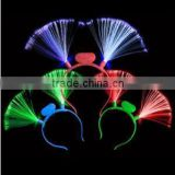 LED Flash Hair Band light up hair accessories Halloween Cosplay Props Masquerade Decorative Toys