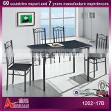 1202-17B 2013newest design Italy popular square indoor dining table