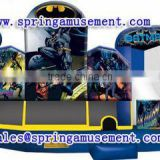 Newest and High Quality BATMAN inflatable bouncer and slide, inflatable castle combo, inflatable bounce house