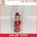 Japanese plastic doll cheap plastic national doll