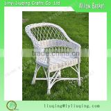 wholesale white outdoor garden furniture wicker dining table and chair/garden wicker chair