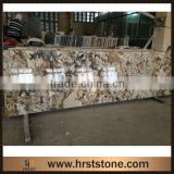 Hotel Reception Front Natural Granite Counter Desk