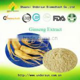 GMP factory supply ginseng extract for hair / Pure natural herbal panax ginseng extract /korean red ginseng extract drink