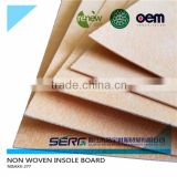 cellulose board insulation and cellulose fiber board for shoe making materials