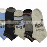 Professional manufacturer supplier 77% cotton boy ankle kid sock