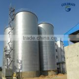 Galvanized automatic excellence hopper bottom grain bins
