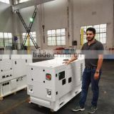 CE/SONCAP approved Ultra Silent Diesel Generator 25kw single phase driven by 4 cylinder FAWDE or Kubota engine