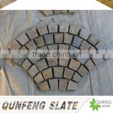 cut-to-size stone form and erosion resistance antacid natural edge rusty slate floor tile garden stone molds