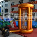 Cheap inflatable catch money machine, cash machine, inflatable cash machine