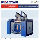 Hot sale stretch film slitter rewinder machine