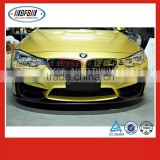 body kits M Style front splitter bumper lip FOR BMW M4 F82 M3 F80 carbon fiber 2014-2016