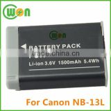 Brand New NB13L Battery for Canon NB13L Digital Camera, Battery for Canon PowerShot G7 X NB13L