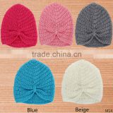 2016 autumn and winter new children's hat Europe and the United States tied India Bohemia HAT baby wool hat
