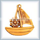 2015 new,toy sailing boat,golden wooden boat,model material,,scale architectural wooden models